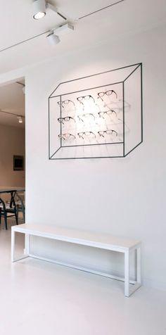 Via NordicDays.nl   Inspiring Optometrist Store in Belgium
