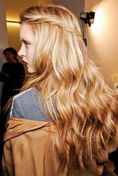 long long hair.