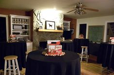 Room table clothes, bar tables, birthday parties, beer tasting, 40th birthday, brew bash, birthday ideas, 30th birthday, themed parties