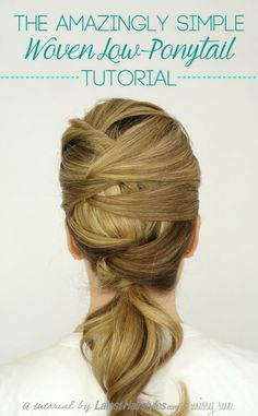 10 Beautiful DIY Hairstyles to Wear to a Wedding - #ponytail #hair