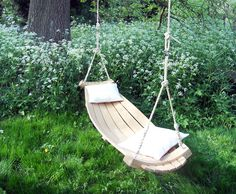 Richard Foxcroft, wood hammock, sustainably sourced wood, wood furniture, green furniture, swing, woodworking, Hertfordshire Hammocks, oak hammock, sustainable design, green design