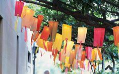 Paper Bag Party Lights · Home and Garden | CraftGossip.com