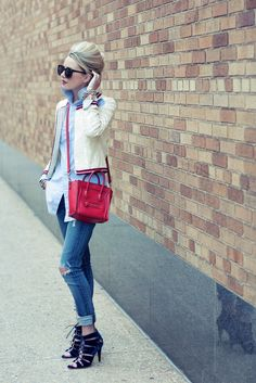 :: red, white & denim ::