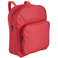 Promotional Childs Backpacks are made from 600D polyester and are available in 3 bold colours to choose from.