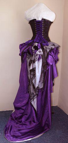 purple costume
