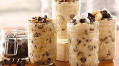 "Overnight Oatmeal - great idea!  Fruit, of course, will be a ""stir-in"".  Making some tonight :)"