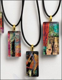 Art to Wear Project 4: Art Pendants