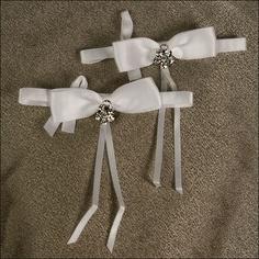 Accent Bows - Allure - White
