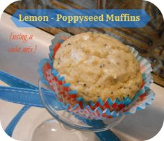 The Better Baker: Lemon - Poppyseed Bread (or Muffins)...from a cake mix