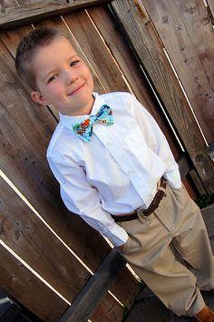 Faux Bow Tie