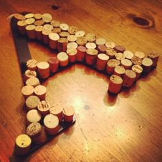 DIY wall decoration... That's gonna take a lot of wine... I better get started drinking!!