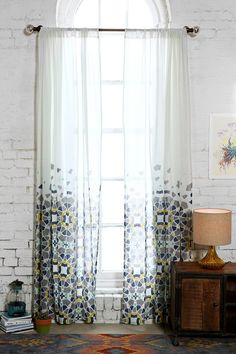Magical Thinking Moroccan Tile Curtain
