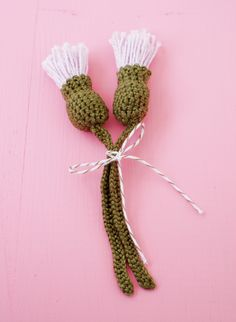 Crochet Thistle Pattern (3)