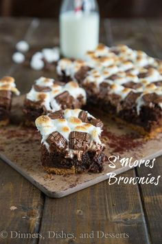 S'mores Brownies - r