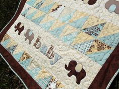 Pachyderm Procession Quilt Pattern