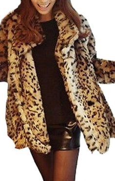 Winter Warm Sexy Tiger Leopard Print Faux Fur Coat Jacket for only $71.00 You save: $45.08 (39%)
