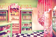 cool candy store