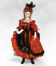 Collectible Porcelain Dolls - ParadiseGalleries.com