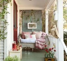 charming little porch