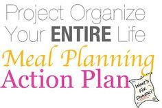 Meal Planning/Menu Planning