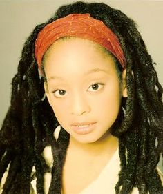 She makes me want to loc my kids hair...love love love