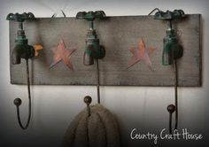 faucet hooks wall hanging.