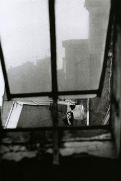 michèle girardon, paris, 1956,  photo by jeanloup sieff