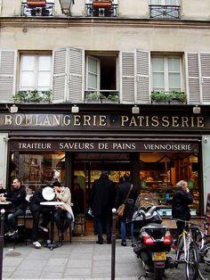 Ma vie á Paris: les boulangeries.