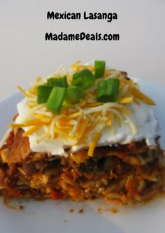Stop the presses this easy mexican lasagna is tasty and easy. This is a must make meal. SHHH do not tell anyone how easy it is to create