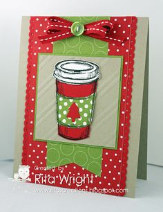 Stampin' Up! Christmas by Rita's Creations: Stamp Review Crew: Perfect Blend Edition