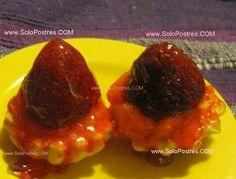 Tarteletas de crema de frutillas, (fresas)