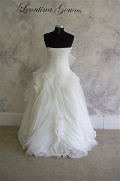 Ball Gown Wedding Dress Ordabella by LeontinaCouture on Etsy, $699.00
