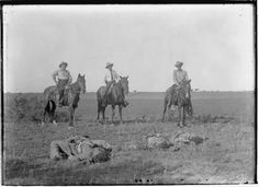 """'Hunting Humans' Brings the Fringe to the Center  So much to take in:  """"I'm reminded of the image of a group of Texas Rangers mounted on horseback, the ends of their rope tied around the ankles of three 'Mexican bandits' laying face down on the ground. Prized game. The image, captured near Brooks County a little over a century ago ... then as now, the concept of border security was woven from the dark thread of race."""""""