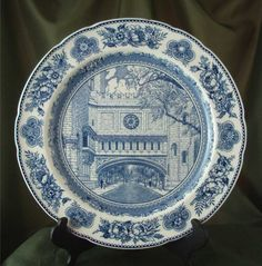 Wedgwood Queens Ware Yale University Plate