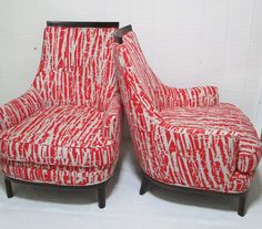Unique Pair of Vintage Barrel Chairs Available by livenUPdesign, $1300.00
