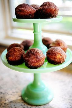 muffins that taste like doughnuts. they are so good and easy to make. recipe.