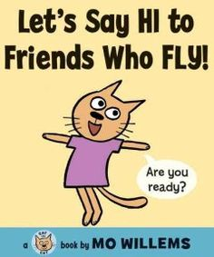 February 11 & 12, 2014. An exuberant cat cheers on her friends as they demonstrate whether or not they can fly.
