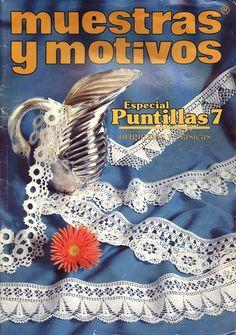 crochet edging book: Muestras y Motivos, Especial Puntillas Nº 7 @Af's 24/1/13