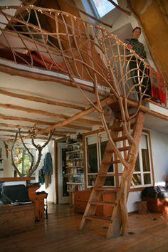 Tree railing