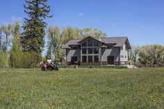 Morton Buildings home in Wyoming.