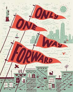 One Way Forward on Behance by Mary Kate McDevitt