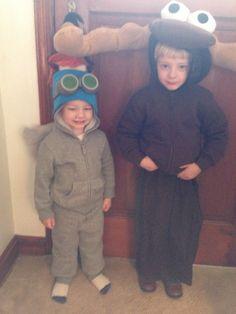 Rocky & Bullwinkle Halloween costumes