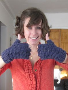 TeaBeans: Spiral Molly Floves Pattern