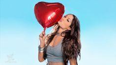 The WWE Divas celebrate Valentine's Day.