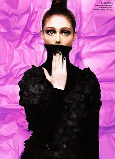Coco Rocha | Elle Canada | cute  #fashion #photography