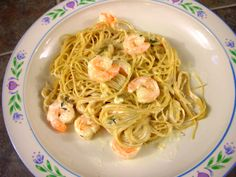 Shrimp In A Lemon Thyme Cream Sauce (from Rants From My Crazy Kitchen)