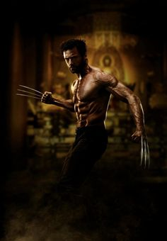 """First Look: Hugh Jackman as Wolverine in the upcoming movie """"The Wolverine""""."""