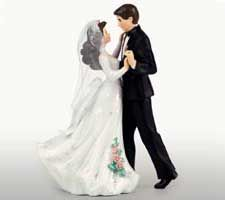 First Dance with Black Tux Figurine