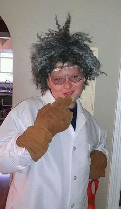 My mad scientist.  Halloween 2012