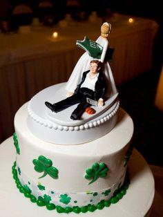 Boston Celtics Cake Topper